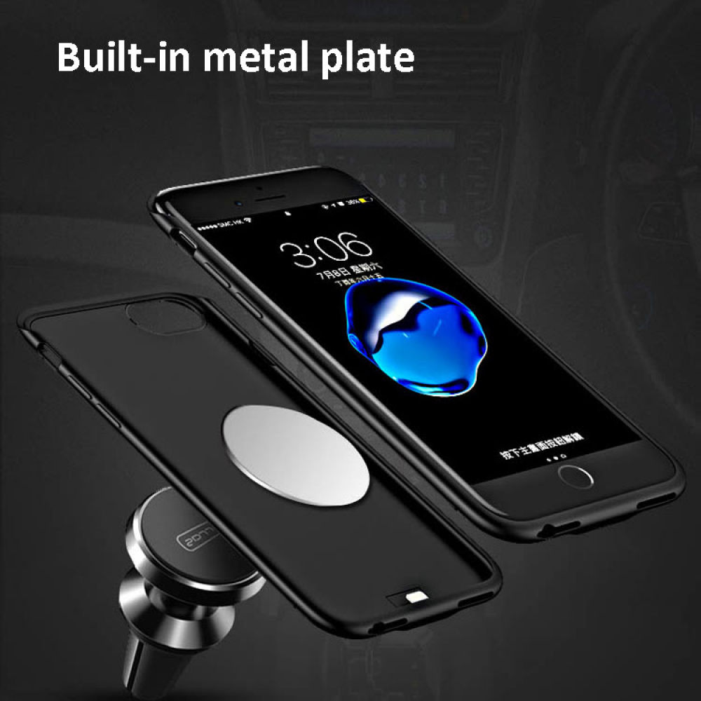 Чехол батарея для iPhone 6/6s/7/8 5000 mAh blue