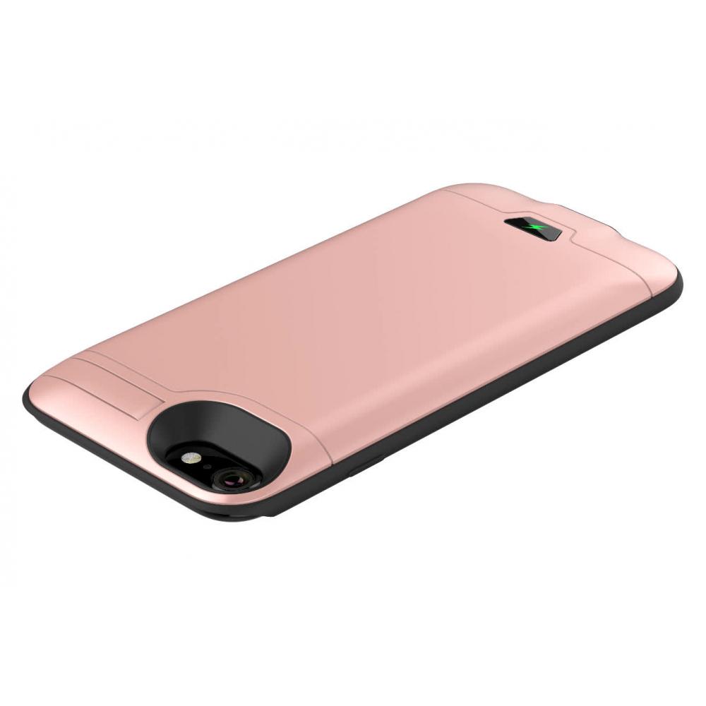 Чехол батарея для iPhone 6/6s/7/8 5000 mAh rose gold