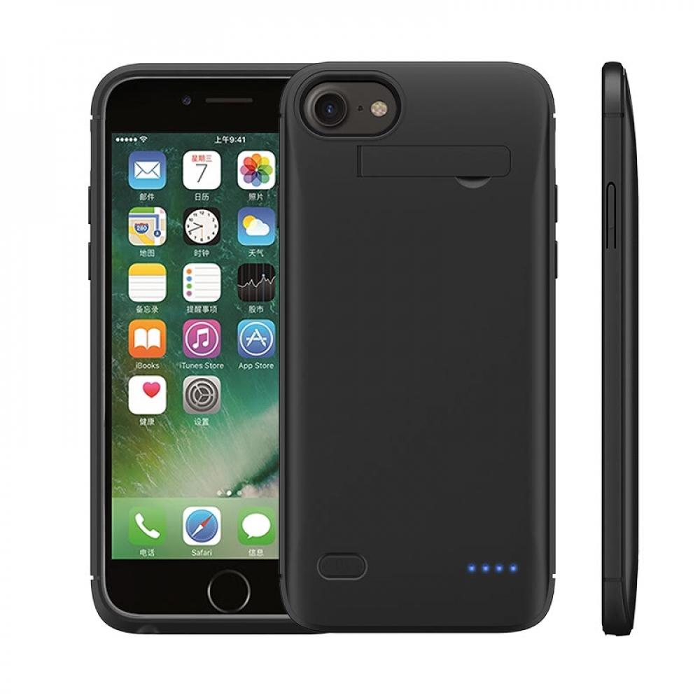 Чехол зарядка для iPhone 6/6s/7/8 5200 mAh Black