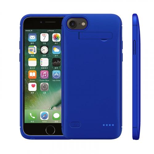 Чехол зарядка для iPhone 6/6s/7/8 5200 mAh blue