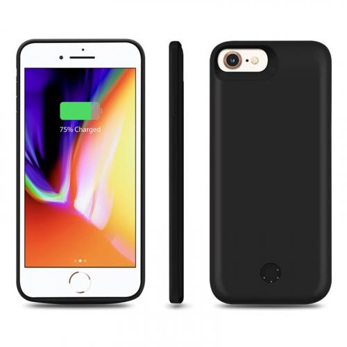 Чехол зарядка для iPhone 6/6s/7/8 Black 5500mAh iBattery