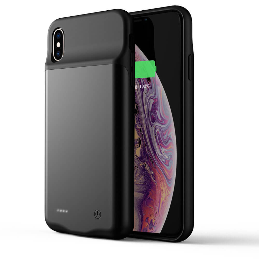 Чехол зарядка для iPhone Xs Max 4000 mAh black iBattery