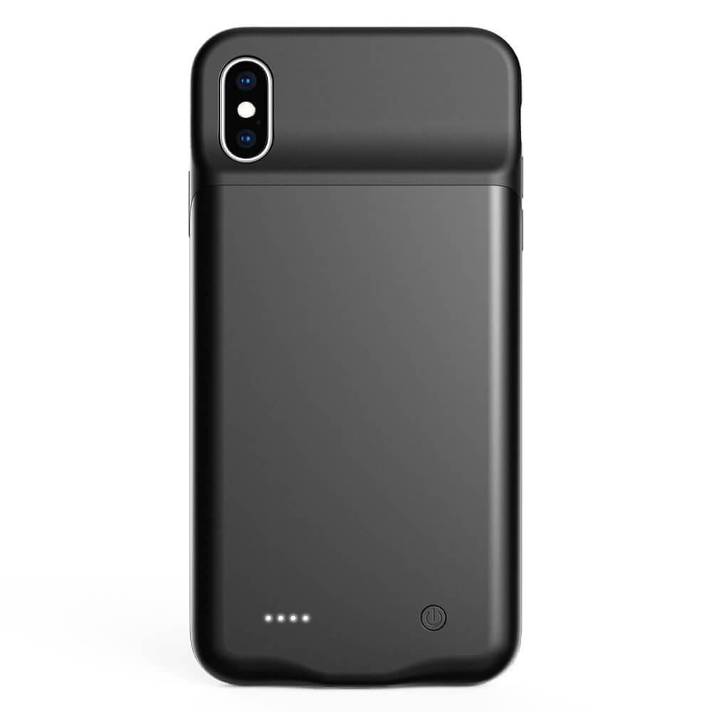 Чехол зарядка для iPhone Xs Max 4000 mAh black iBattery