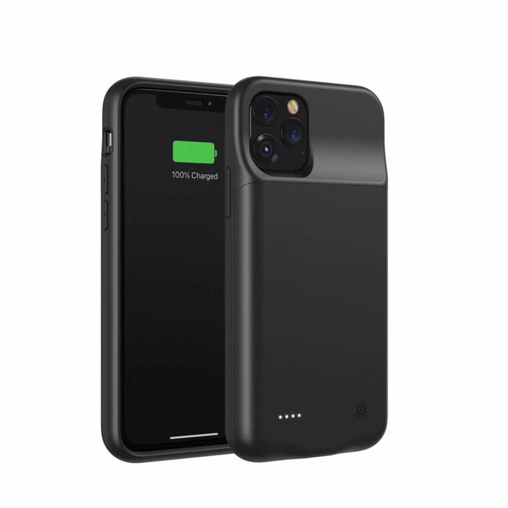 Чехол аккумулятор для iPhone 11 Pro Max 4500 mAh black iBattery
