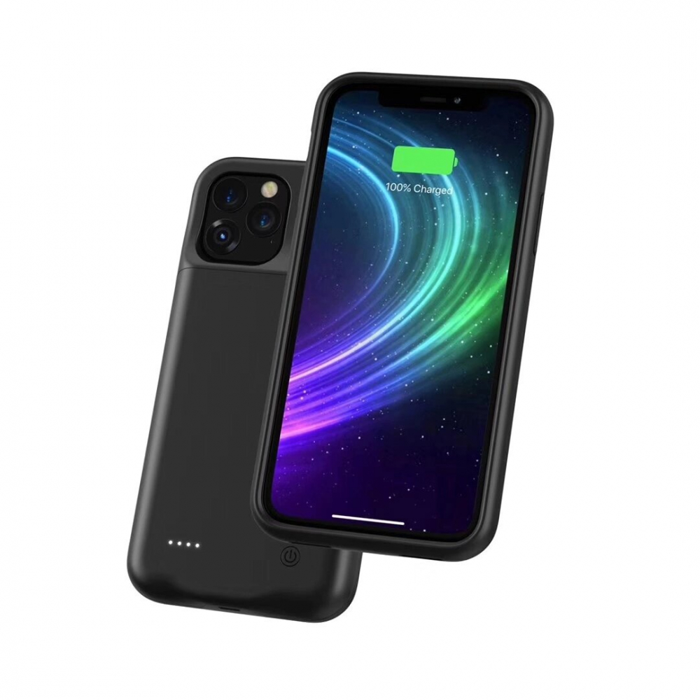 Чехол аккумулятор для iPhone 12 Pro Max 4500 mAh black iBattery