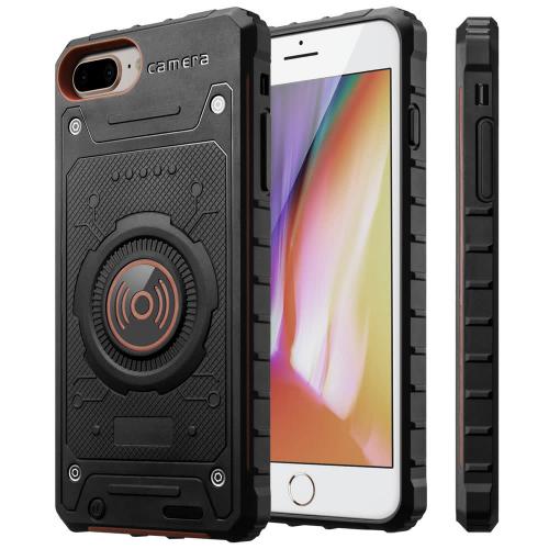 Чехол зарядка для iPhone 6+/6s+/7+/8+ противоударный Red 4000 mAh