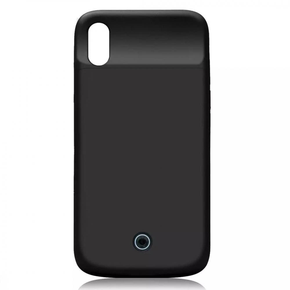 Чехол зарядка для iPhone XR 5000 mAh black