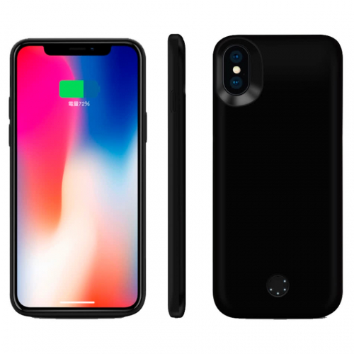 Чехол-батарея на iPhone X/XS 5000 mAh black