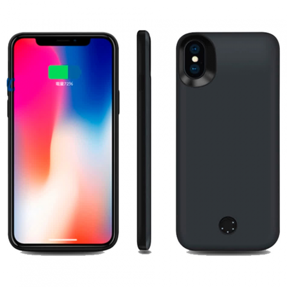 Чехол-батарея на iPhone X/XS 5000 mAh gray