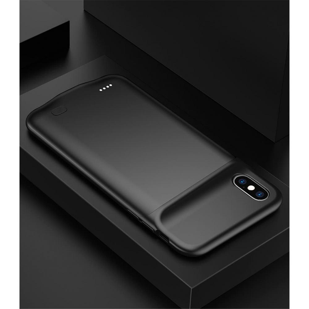 Чехол аккумулятор для iPhone X/XS 5200 mAh black iBattery