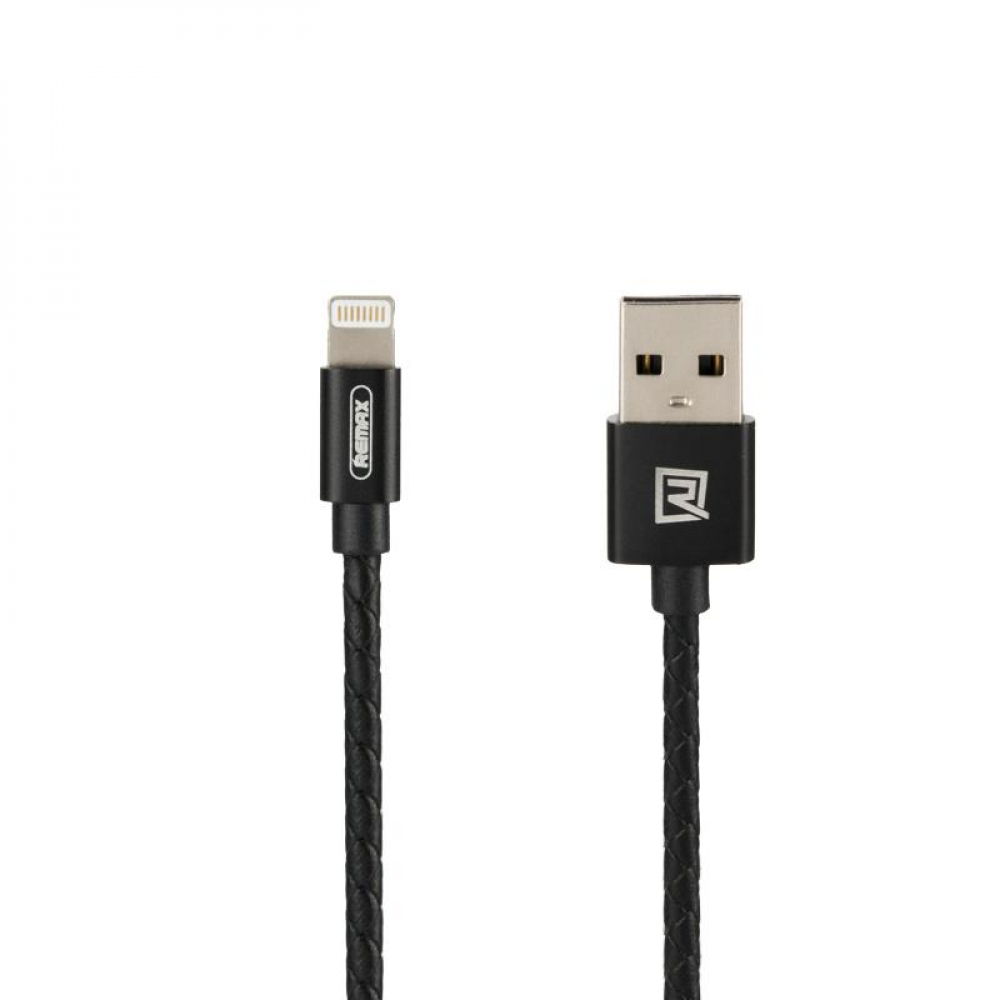 USB Cable Remax (OR) Jewellery RC-058i Lightning Black 0.5m