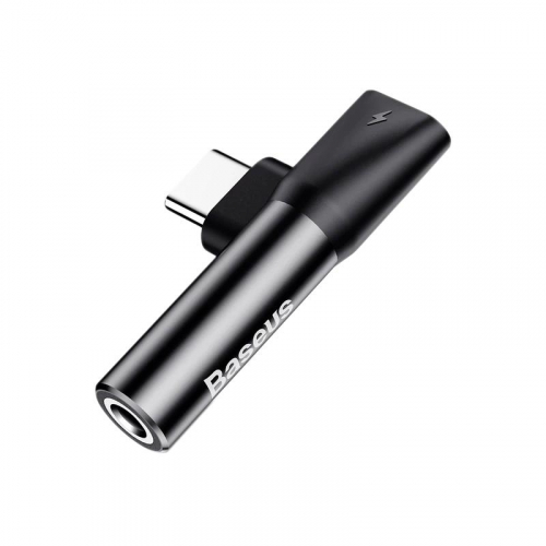 Adapter Baseus L41 Type-C Male to 3.5mm+Type-C Female