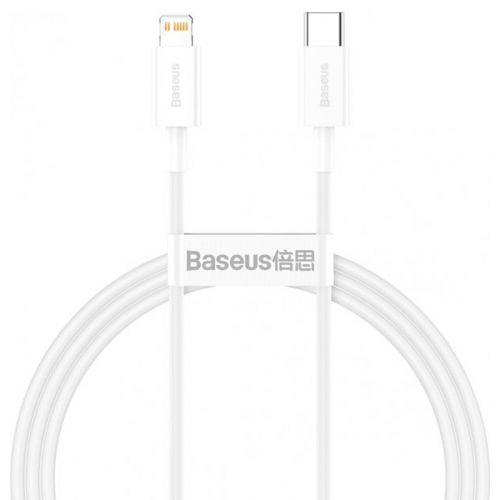 Cable Baseus Superior Series Type-C/Lightning 20W (CATLYS-A02) White 1m