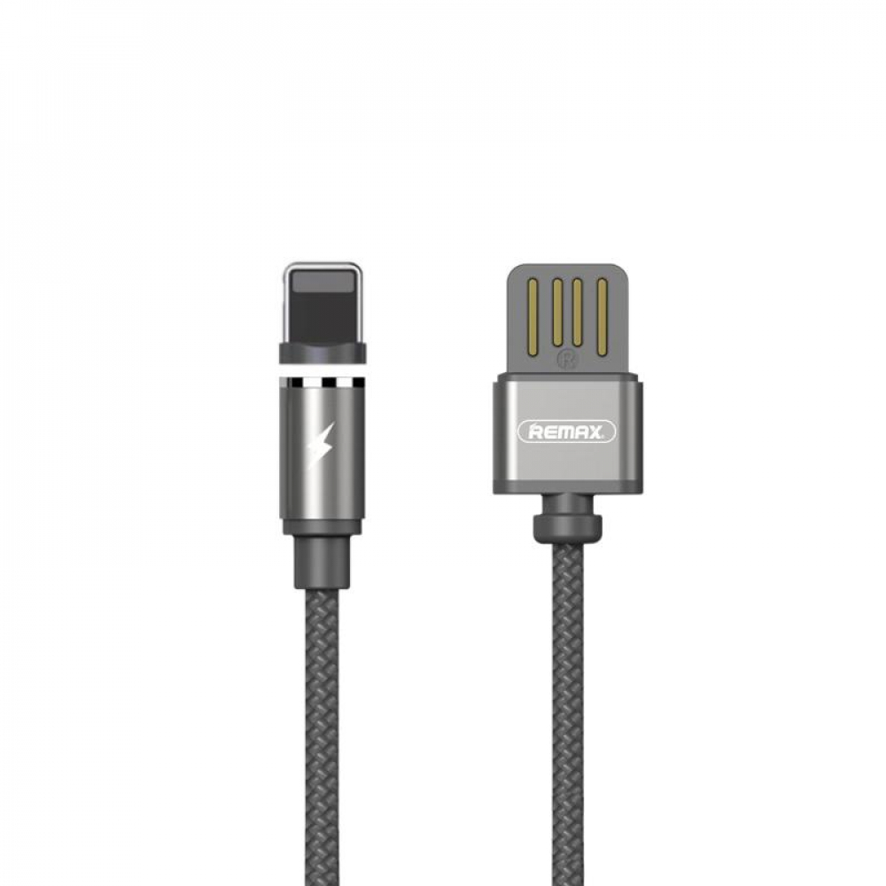 USB Cable Remax (OR) Gravity RC-095i Lightning Grey 1m