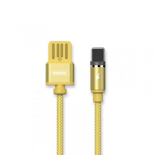 USB Cable Remax (OR) Gravity RC-095i Lightning Gold 1m