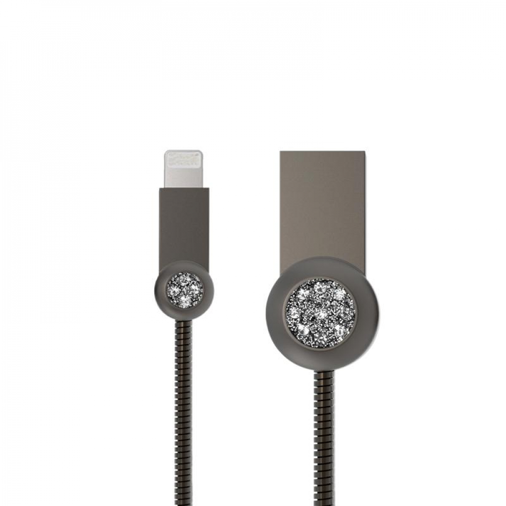 USB Cable Remax (OR) Moon RC-085i Lightning Grey 1m