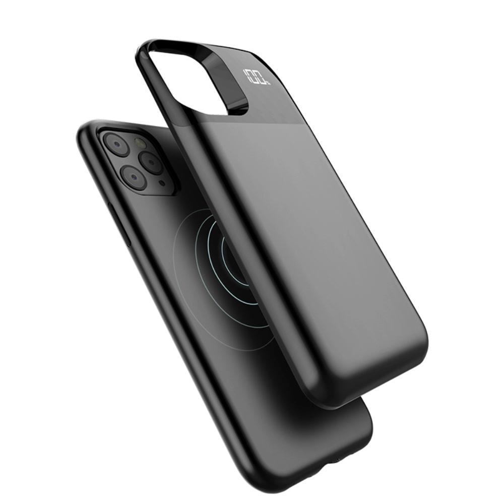 Чехол зарядка для iPhone 11 Pro black 5000 mAh магнитный
