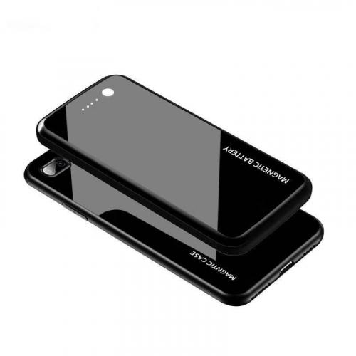 Magnet чехол зарядка для iPhone 8/SE 2020 black 10000 mAh