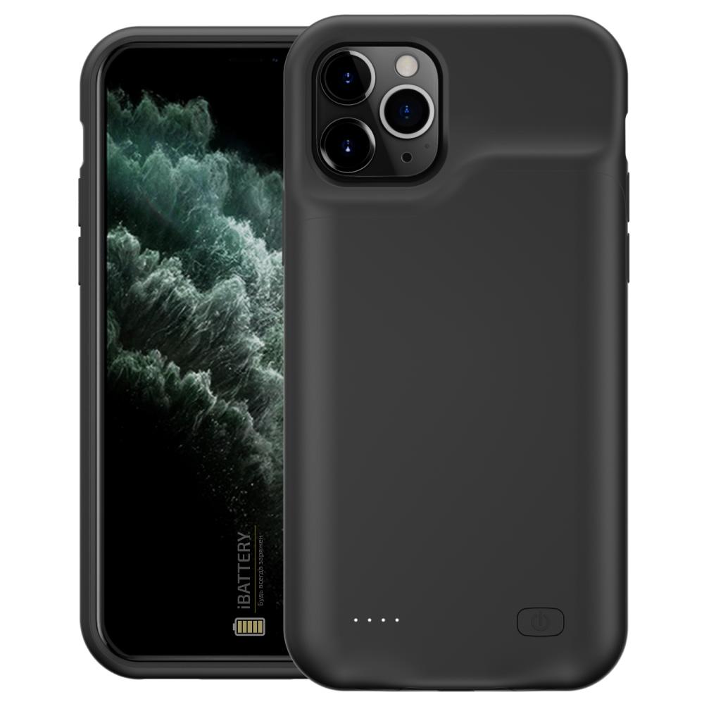 Чехол powerbank для iPhone 11 Pro Max 6500 mAh black iBattery