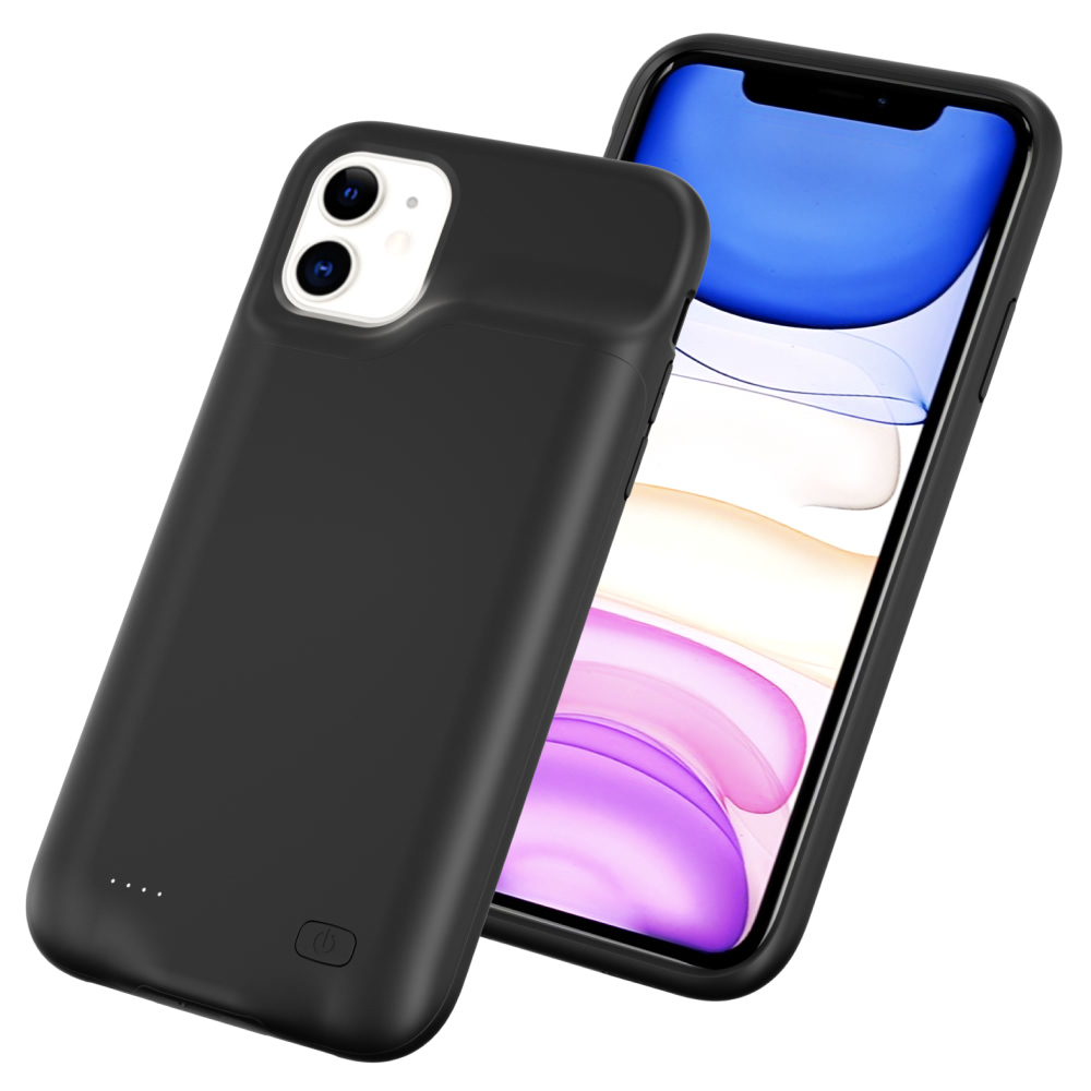 Чехол powerbank для iPhone 11 6000 mAh black iBattery