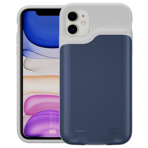 Чехол powerbank для iPhone 11 6000 mAh blue iBattery