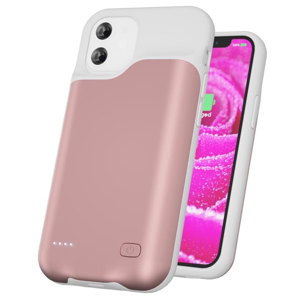 Чехол powerbank для iPhone 12 Mini 4000 mAh pink iBattery