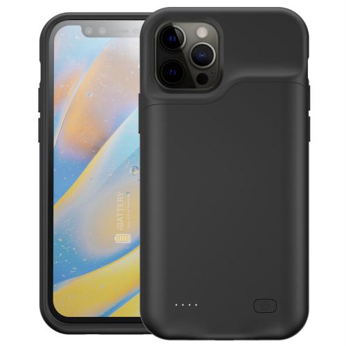 Чехол powerbank для iPhone 12 Pro Max 5000 mAh black iBattery