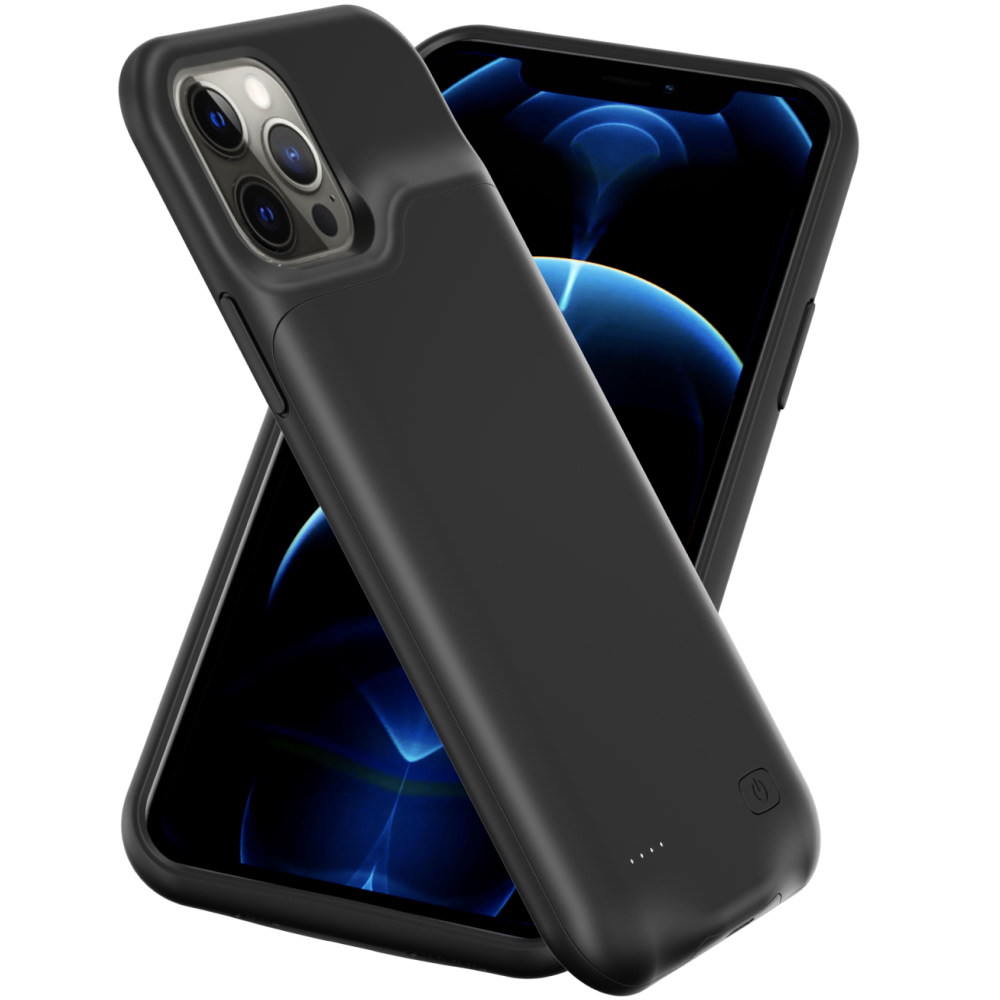 Чехол powerbank для iPhone 12 Pro 4000 mAh black iBattery