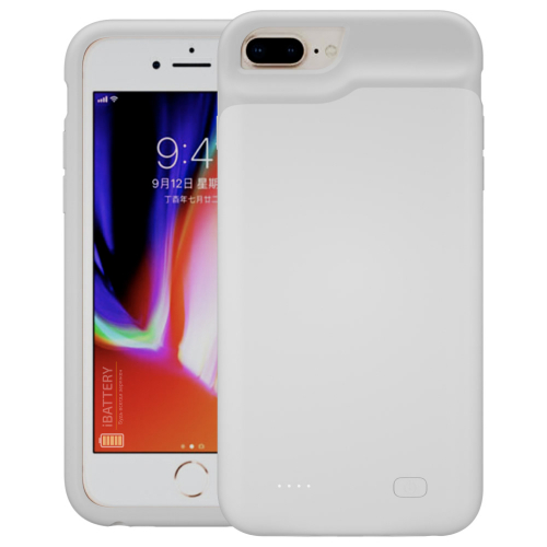 Battery case для iPhone 6/6s/7/8 Plus 6500 mAh white