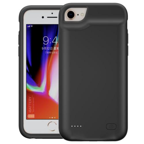Battery case для iPhone 6/6s/7/8 6000 mAh black
