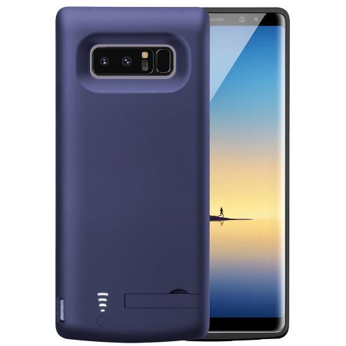 Чехол зарядка для Samsung Note 8 6500 mAh blue iBattery
