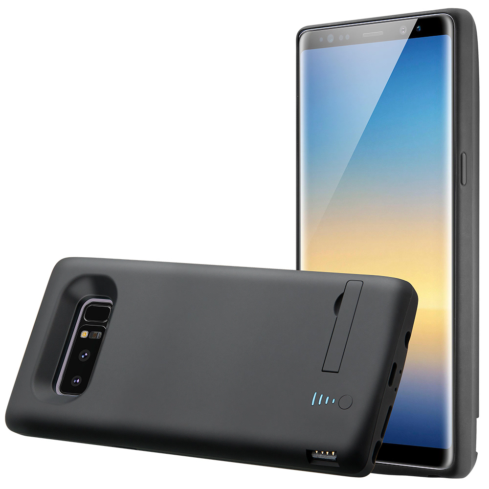 Чехол зарядка для Samsung Note 8 6500 mAh black iBattery