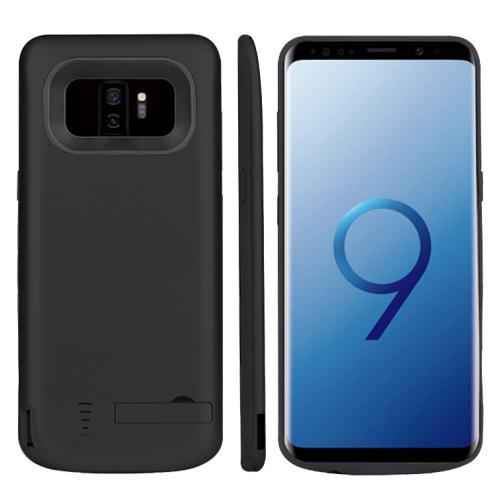 Чехол батарея для Samsung S9 Plus 6000 mAh black iBattery