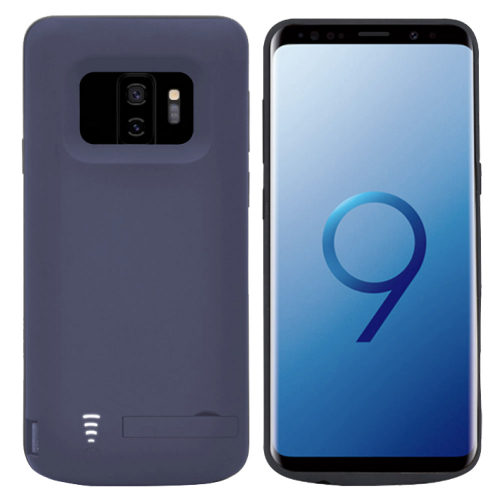 Чехол батарея для Samsung S9 Plus 6000 mAh blue iBattery