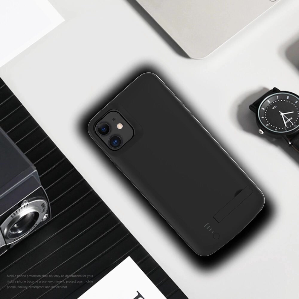 Чехол аккумулятор для iPhone 11 6000 mAh black iBattery