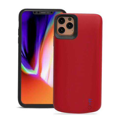 Чехол повербанк для iPhone 11 Pro Max 6000 mAh red