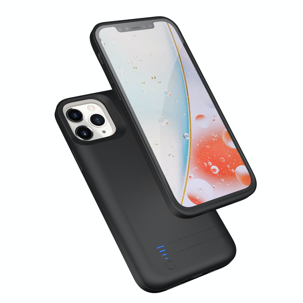 Чехол батарея для iPhone 11 Pro 6000 mAh black