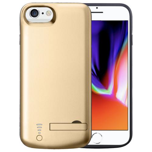 Чехол зарядка для iPhone 6/6s/7/8 gold 5500mAh iBattery