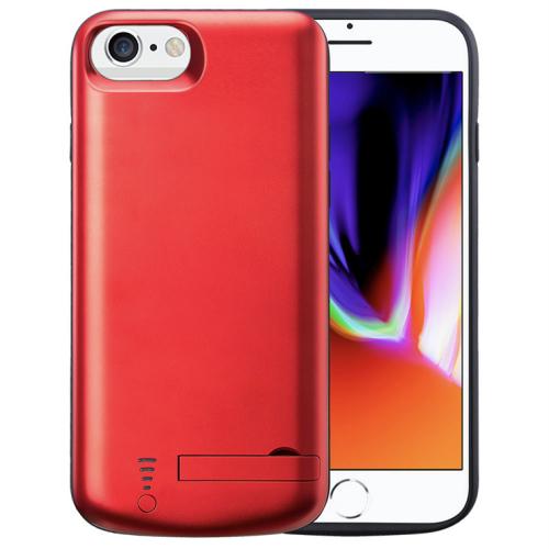 Чехол зарядка для iPhone 6/6s/7/8 red 5500mAh iBattery