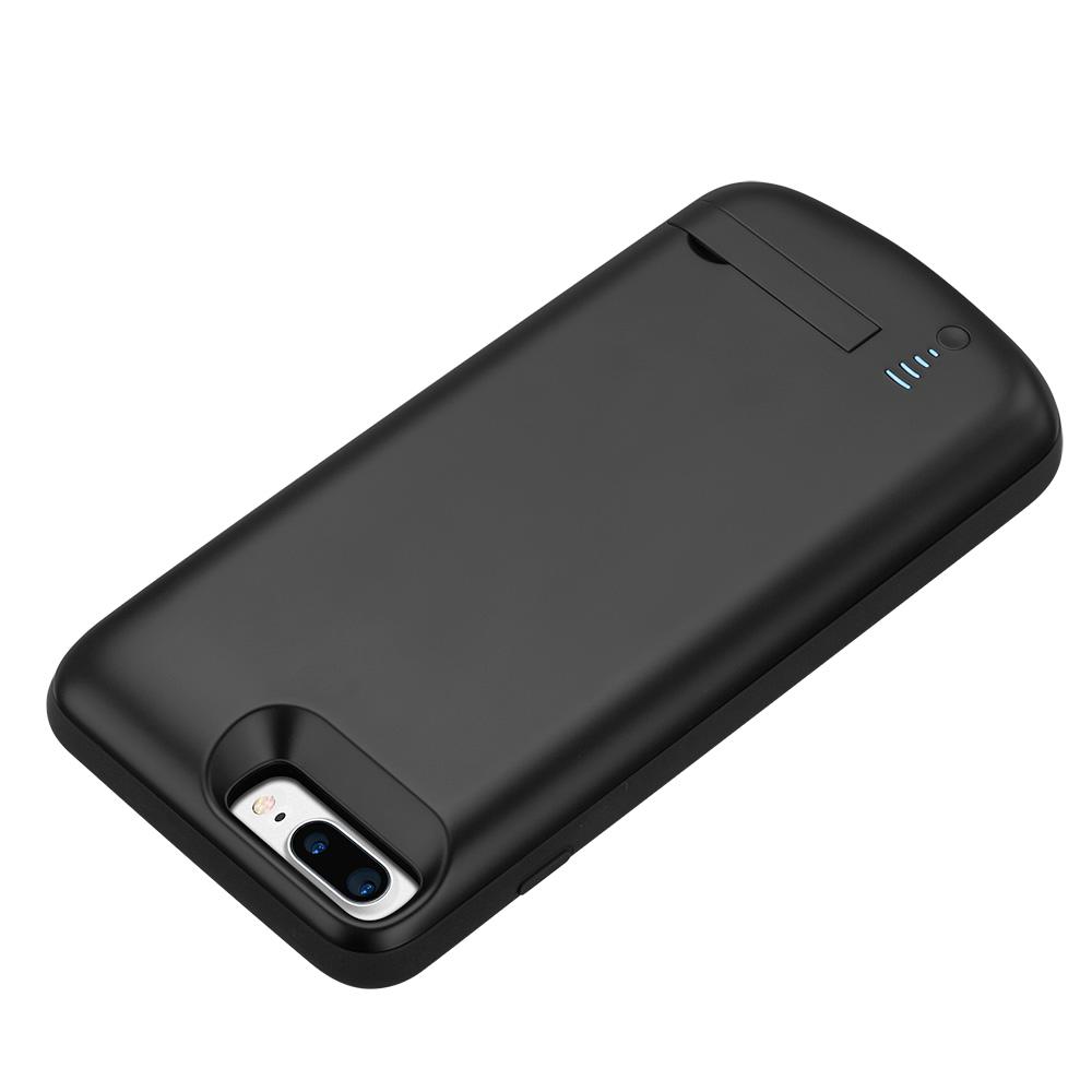 Чехол зарядка для iPhone 6+/6s+/7+/8 Plus 8000 mAh black
