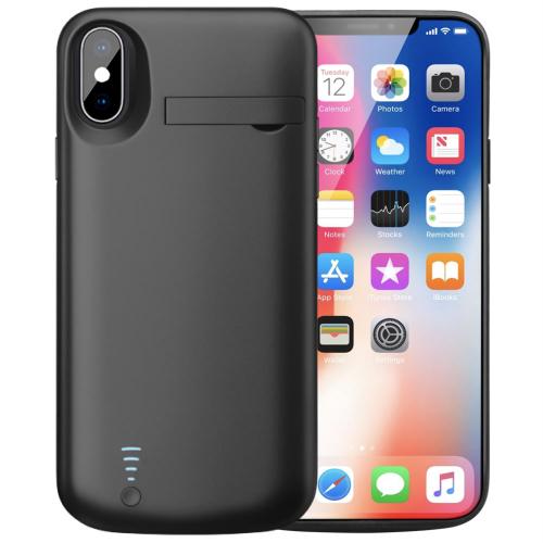Чехол аккумулятор для iPhone X/XS 5000 mAh black iBattery