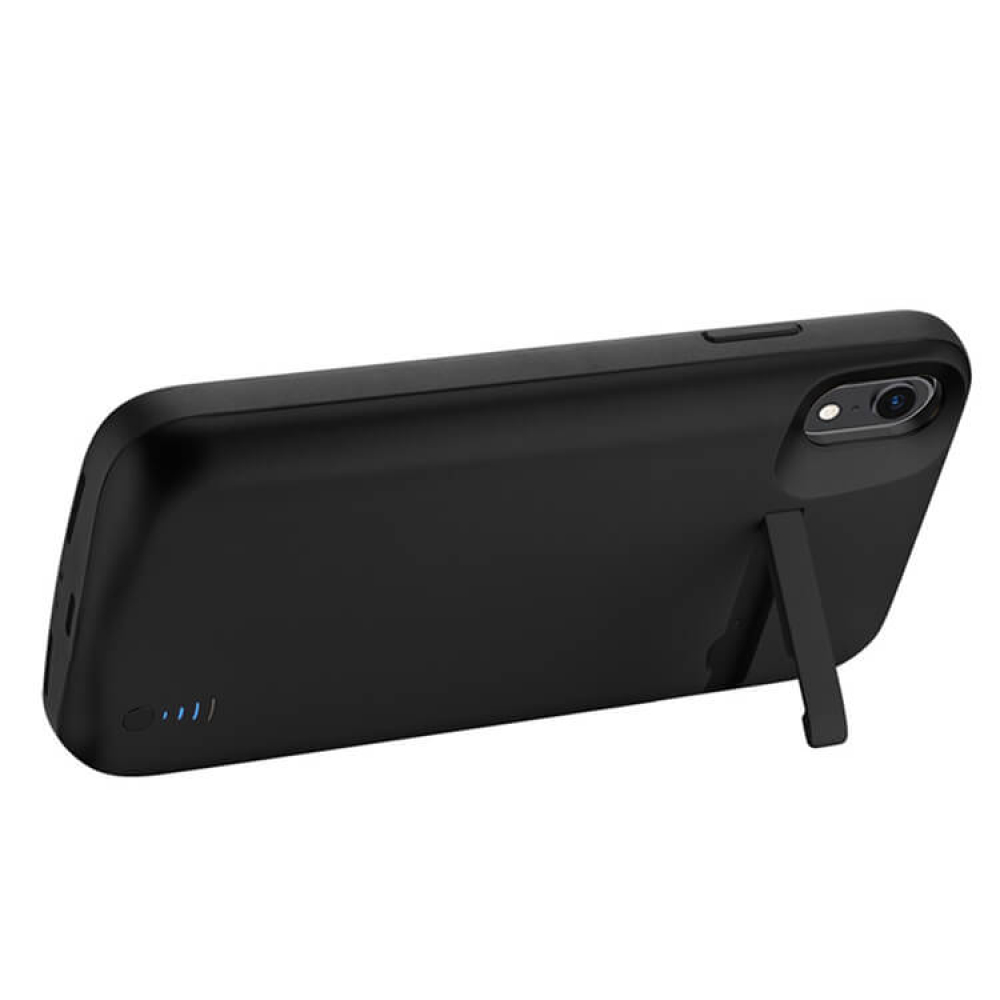 Чехол зарядка для iPhone XR 6000 mAh black iBattery