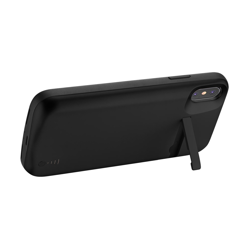 Чехол батарея для iPhone Xs Max 6000 mAh black iBattery