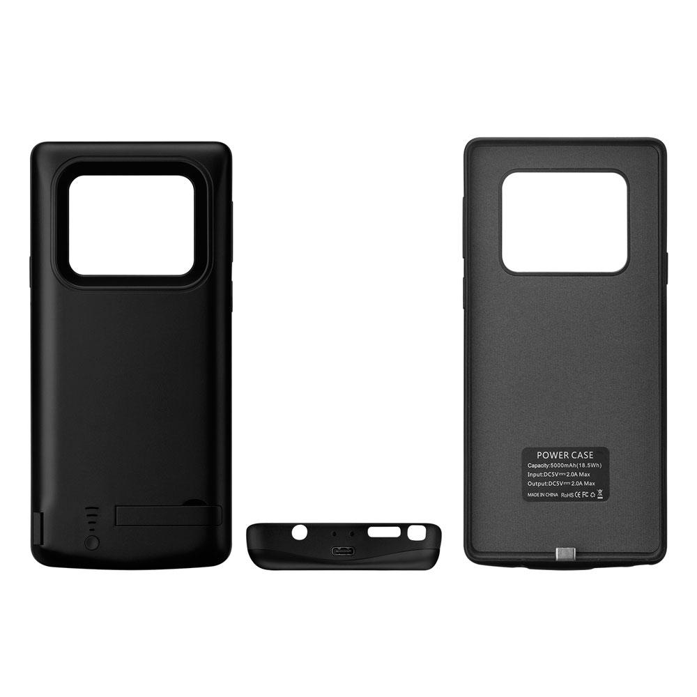 Чехол зарядка для Samsung Note 9 blue 5000 mAh iBattery