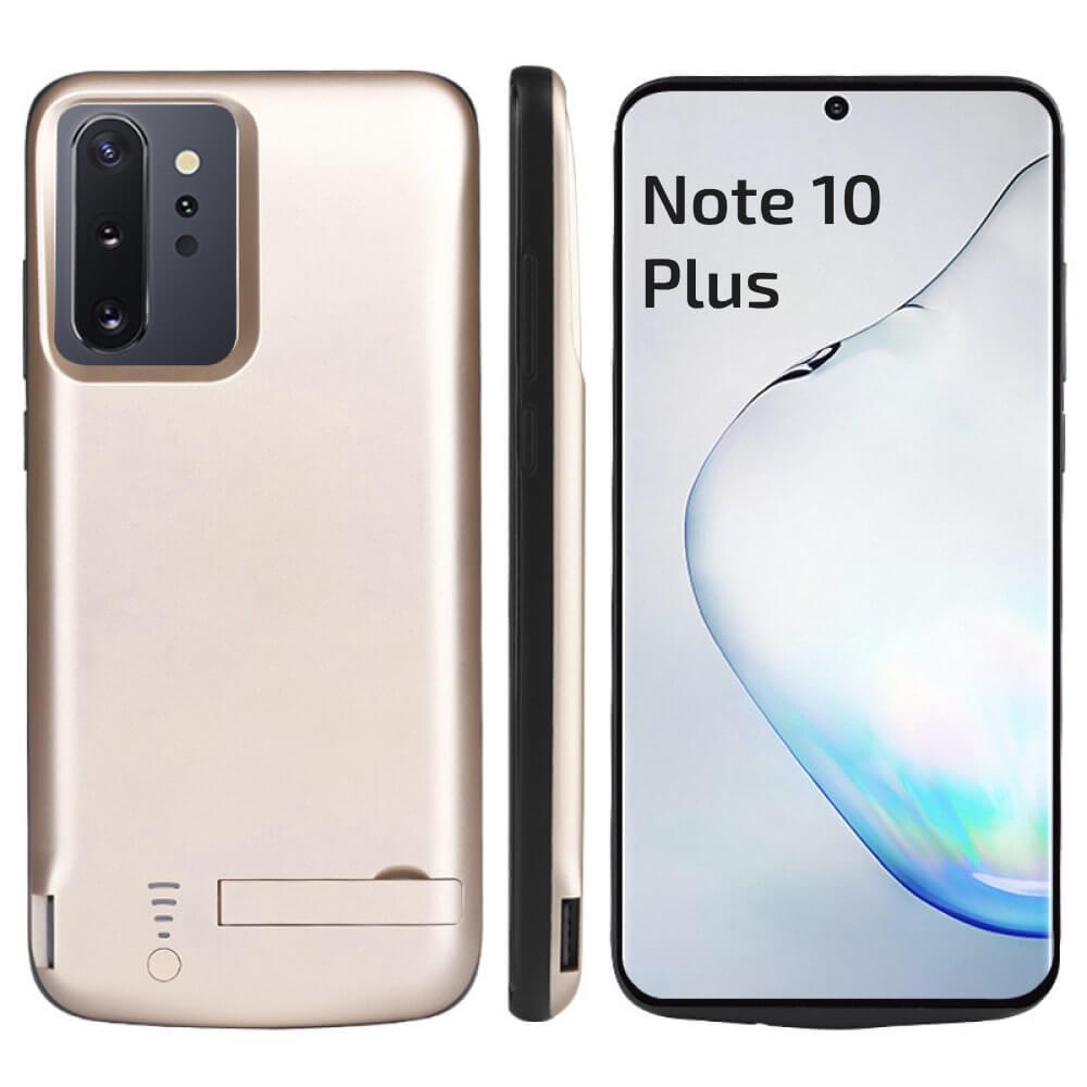 Чехол аккумулятор для Samsung Note 10 Plus 6000 mAh gold iBattery