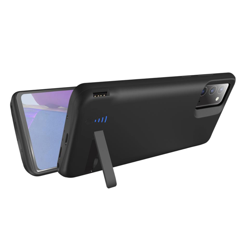 Чехол зарядка для Samsung Note 20 6000 mAh black iBattery