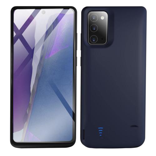 Чехол зарядка для Samsung Note 20 6000 mAh blue iBattery