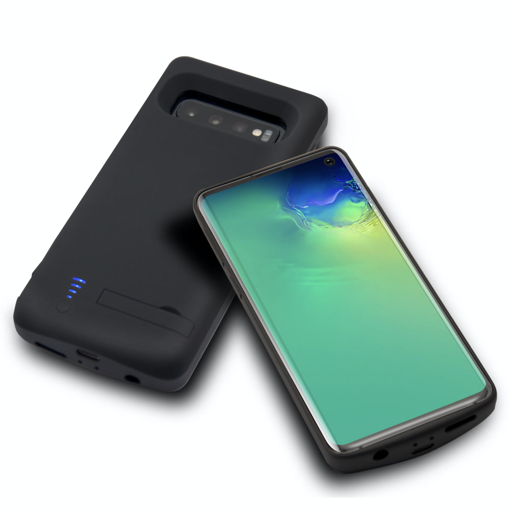 Чехол аккумулятор для Samsung S10 black 6000 mAh iBattery