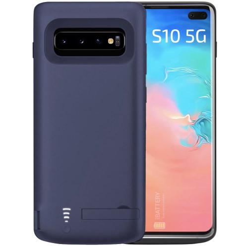 Чехол аккумулятор для Samsung S10 5G blue 6500 mAh iBattery