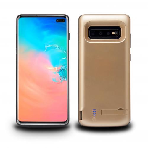 Чехол аккумулятор для Samsung S10 Plus gold 6000 mAh iBattery